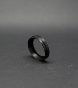 BEAUTY RING DELRIN BLACK 22 - 24MM FLAVE 22